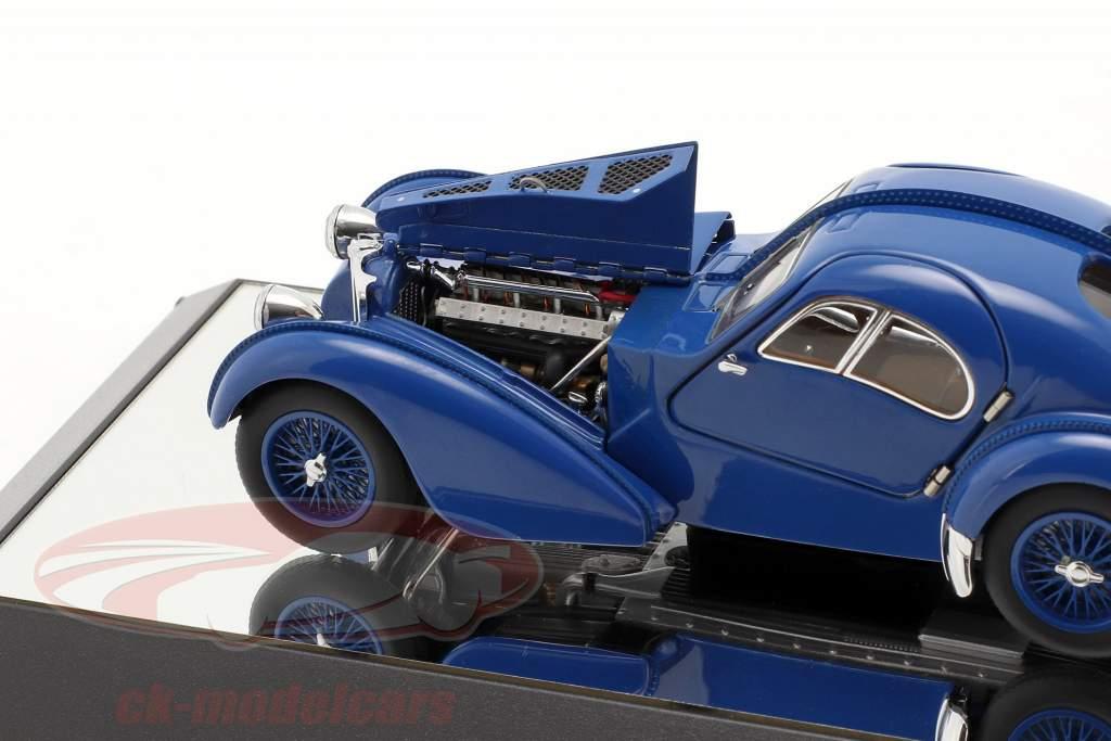 Bugatti Type 57SC Atlantic year 1938 blue 1:43 AUTOart
