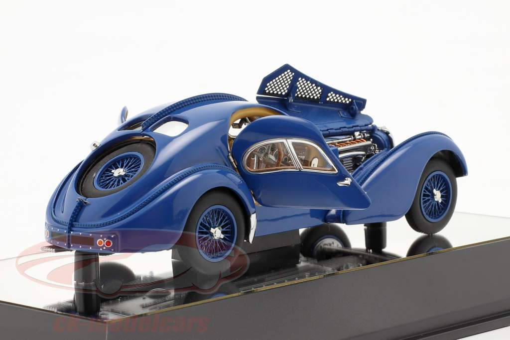 Bugatti Type 57SC Atlantic Anno di costruzione 1938 blu 1:43 AUTOart