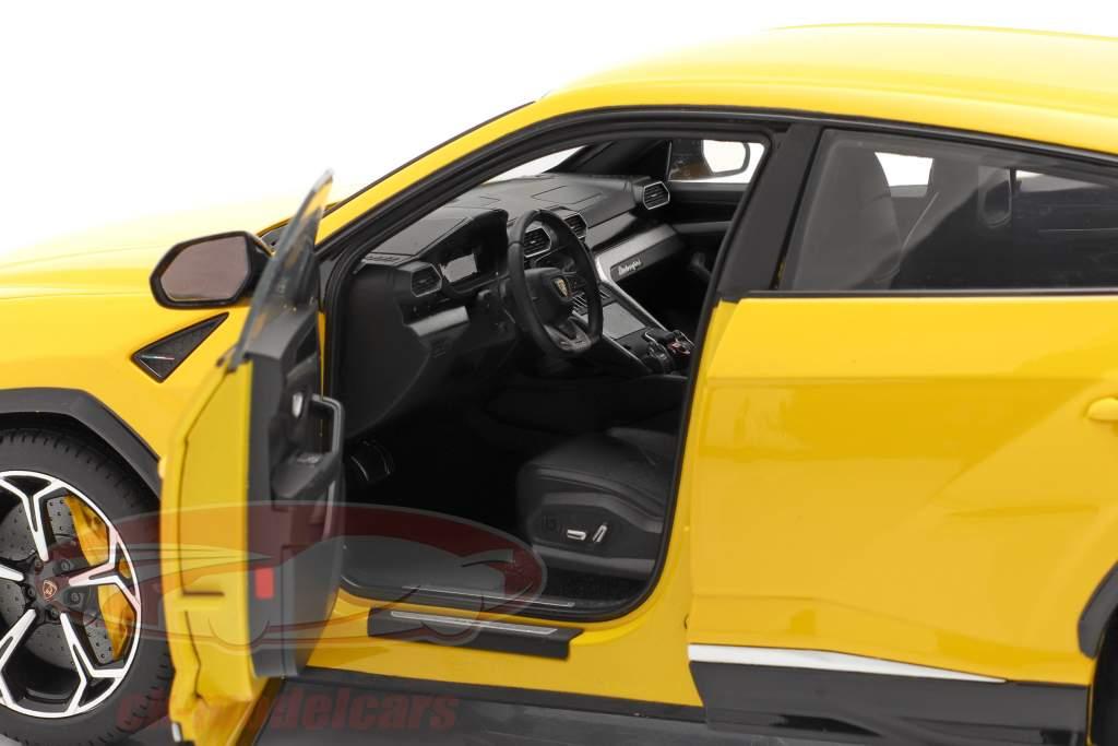 Lamborghini Urus Byggeår 2018 gul 1:18 AUTOart
