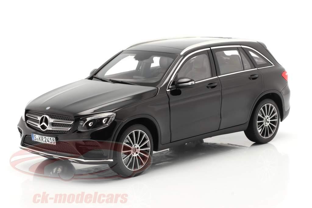 Mercedes-Benz Clase GLC (X253) Año de construcción 2015 negro 1:18 Norev