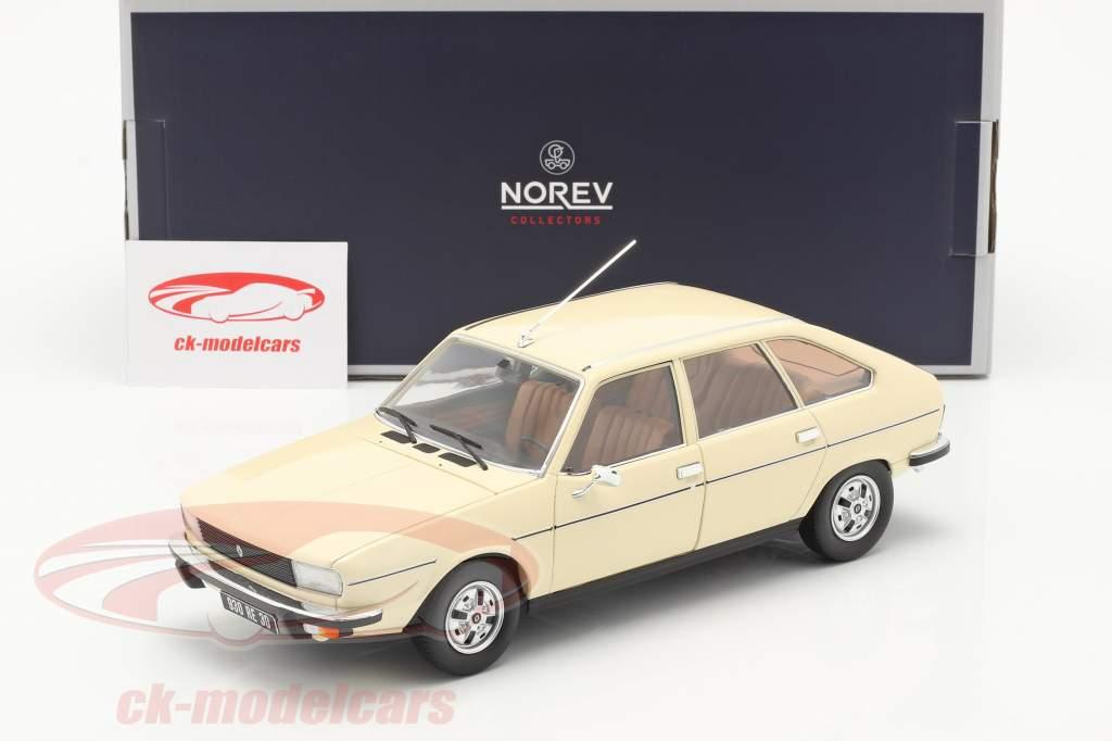 Renault 20 TS Baujahr 1978 beige 1:18 Norev