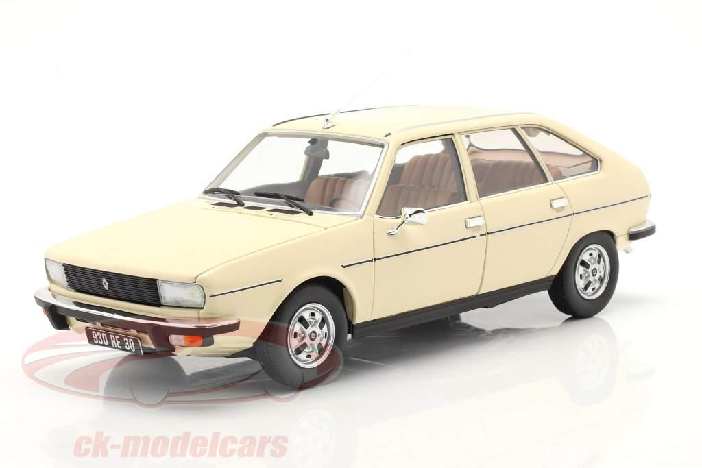 Renault 20 TS Anno di costruzione 1978 beige 1:18 Norev