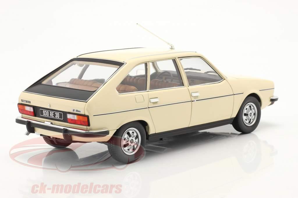 Renault 20 TS Bouwjaar 1978 beige 1:18 Norev