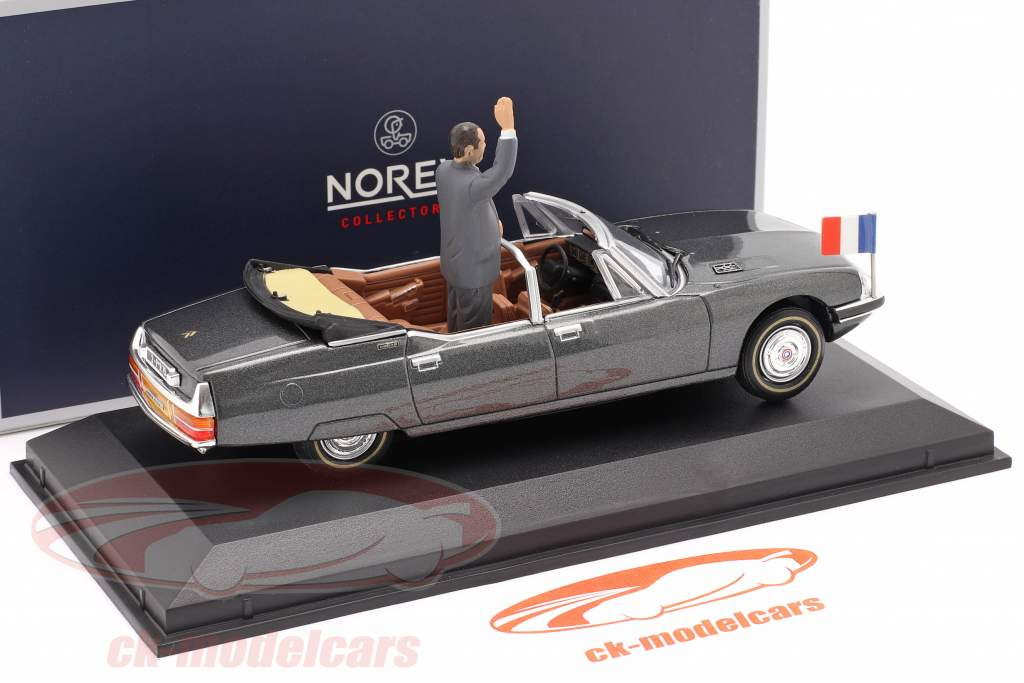 Citroen SM Presidentielle Open Cabriolet 1995 grau metallic 1:43 Norev