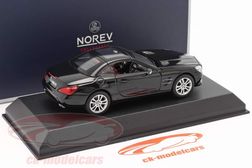 Mercedes-Benz SL 350 Roadster Anno di costruzione 2012 nero 1:43 Norev