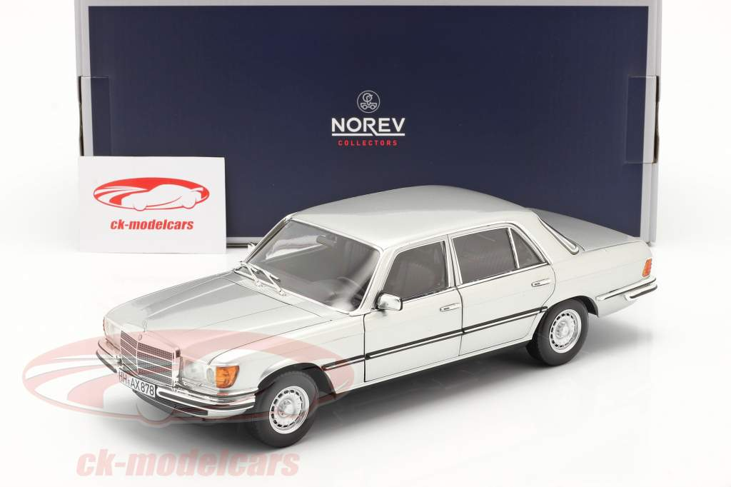 Mercedes-Benz 450 SEL 6.9 (W116) year 1976 silver 1:18 Norev
