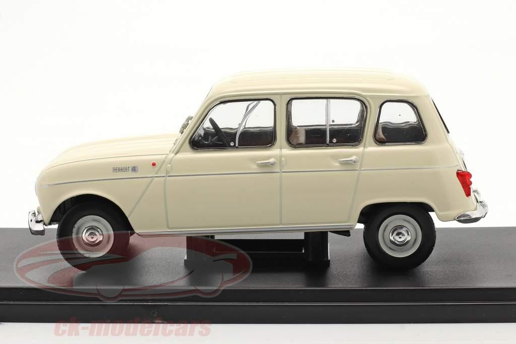 Renault 4L Bouwjaar 1964 room Wit 1:24 Altaya