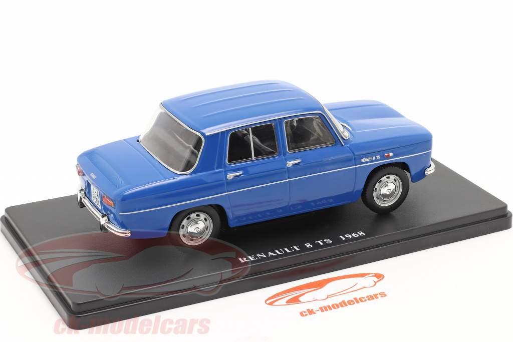 Renault 8 TS Baujahr 1968 blau 1:24 Altaya