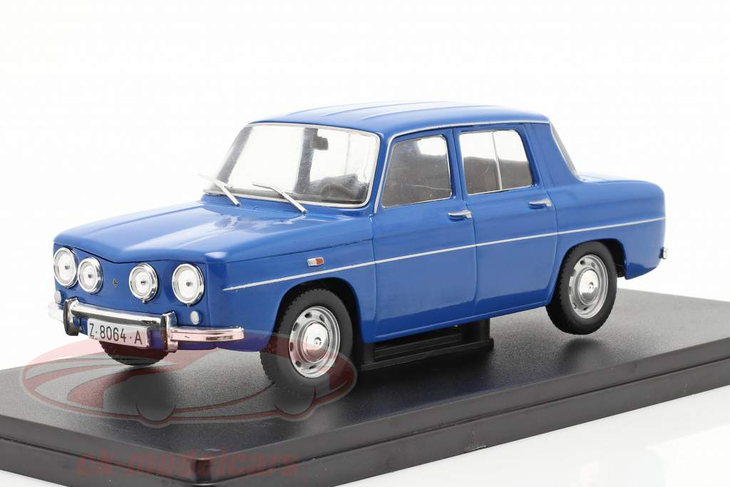Renault 8 TS Année de construction 1968 bleu 1:24 Altaya