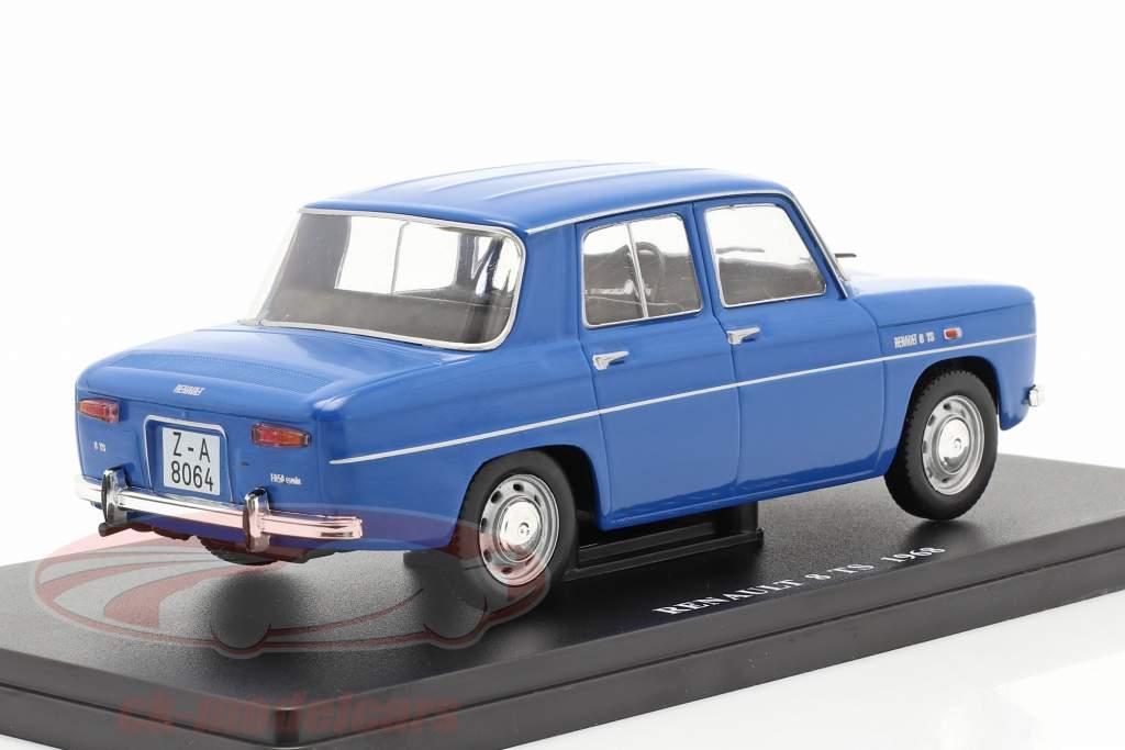 Renault 8 TS Bouwjaar 1968 blauw 1:24 Altaya