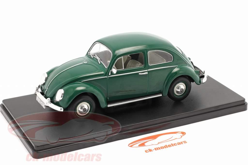Volkswagen VW Bille 1200 Standard Byggeår 1960 grøn 1:24 Altaya