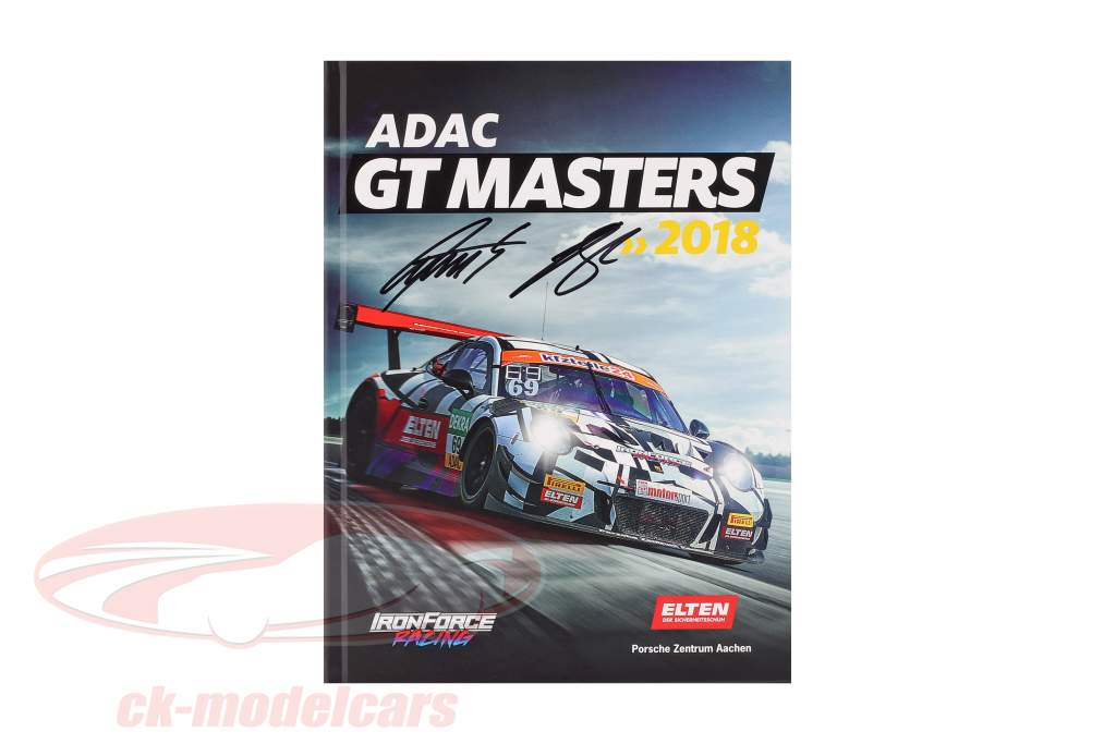 Boek: ADAC GT Masters 2018 Iron Force Signature Edition