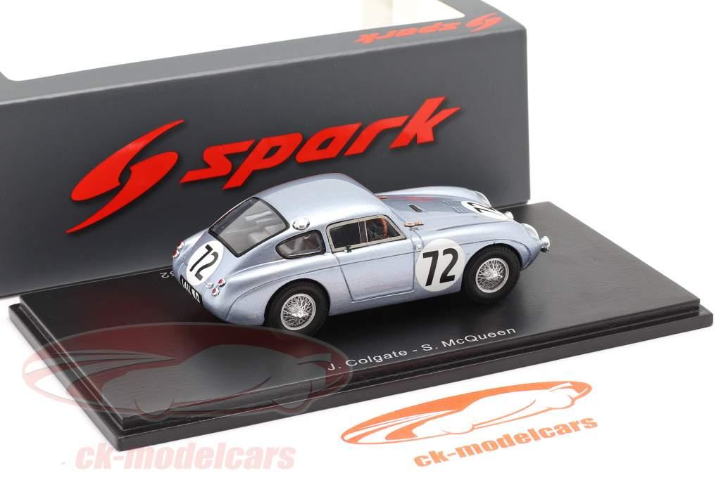 Austin Healey Sprite #72 12h Sebring 1972 McQueen, Colgate 1:43 Spark