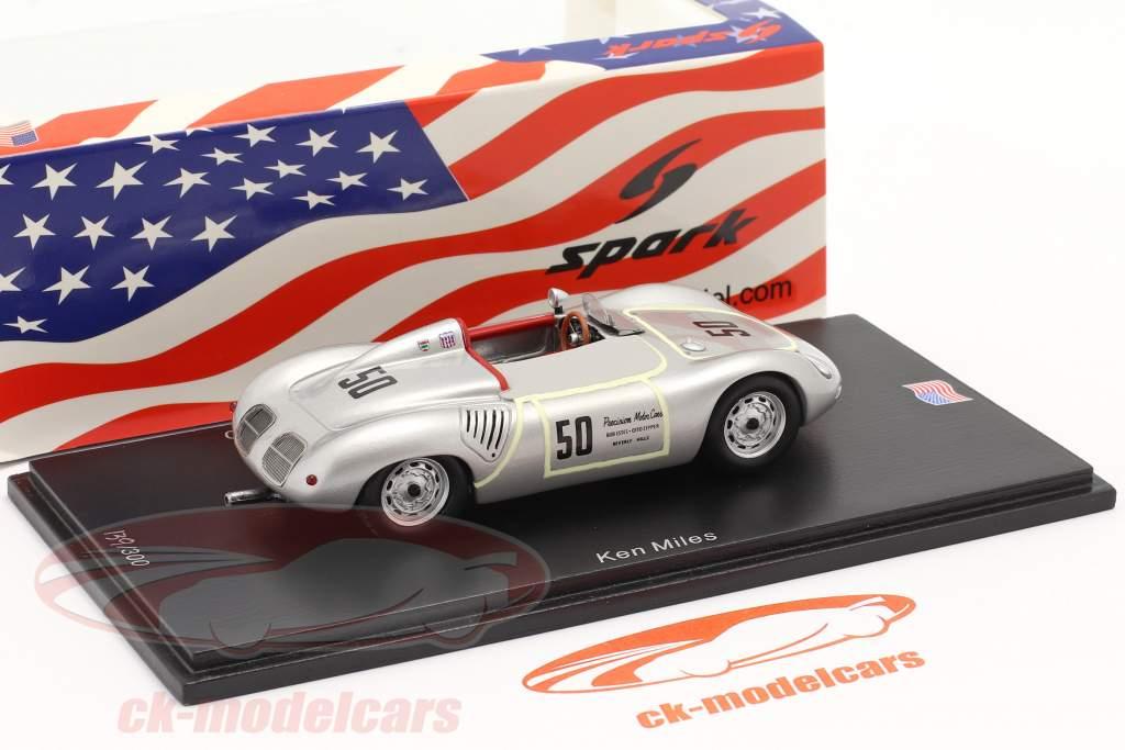 Porsche 718 RS60 #50 200 millas Riverside SCCA 1960 K. Miles 1:43 Spark