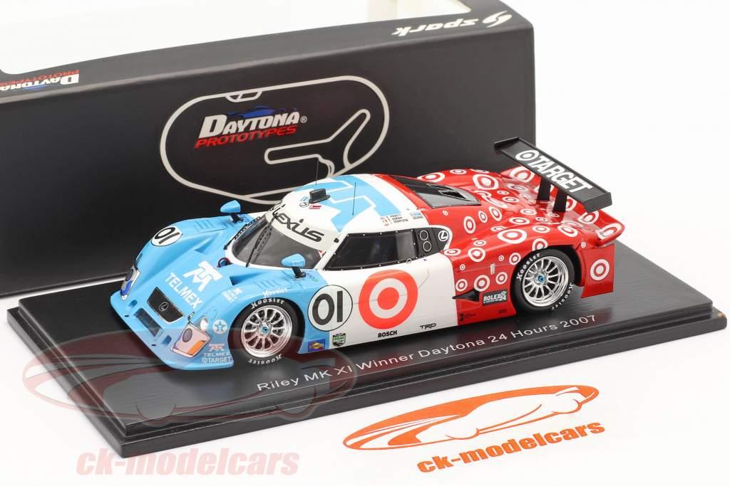 Riley Mk XI #01 Vinder 24h Daytona 2007 Montoya, Pruett, Duran 1:43 Spark
