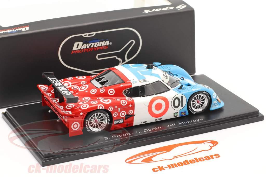 Riley Mk XI #01 Ganador 24h Daytona 2007 Montoya, Pruett, Duran 1:43 Spark
