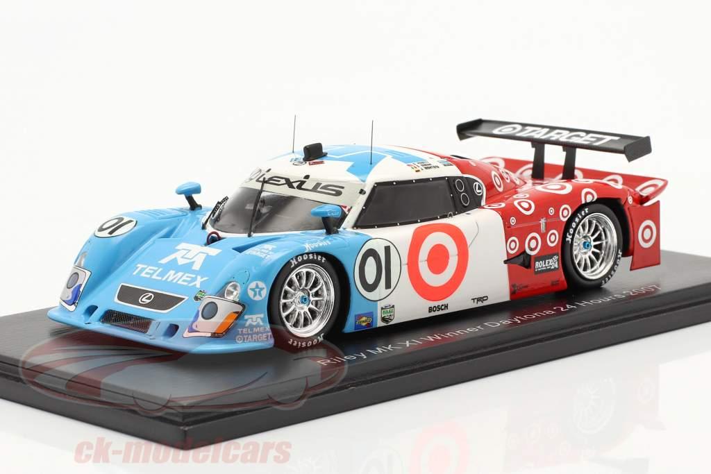 Riley Mk XI #01 Gagnant 24h Daytona 2007 Montoya, Pruett, Duran 1:43 Spark