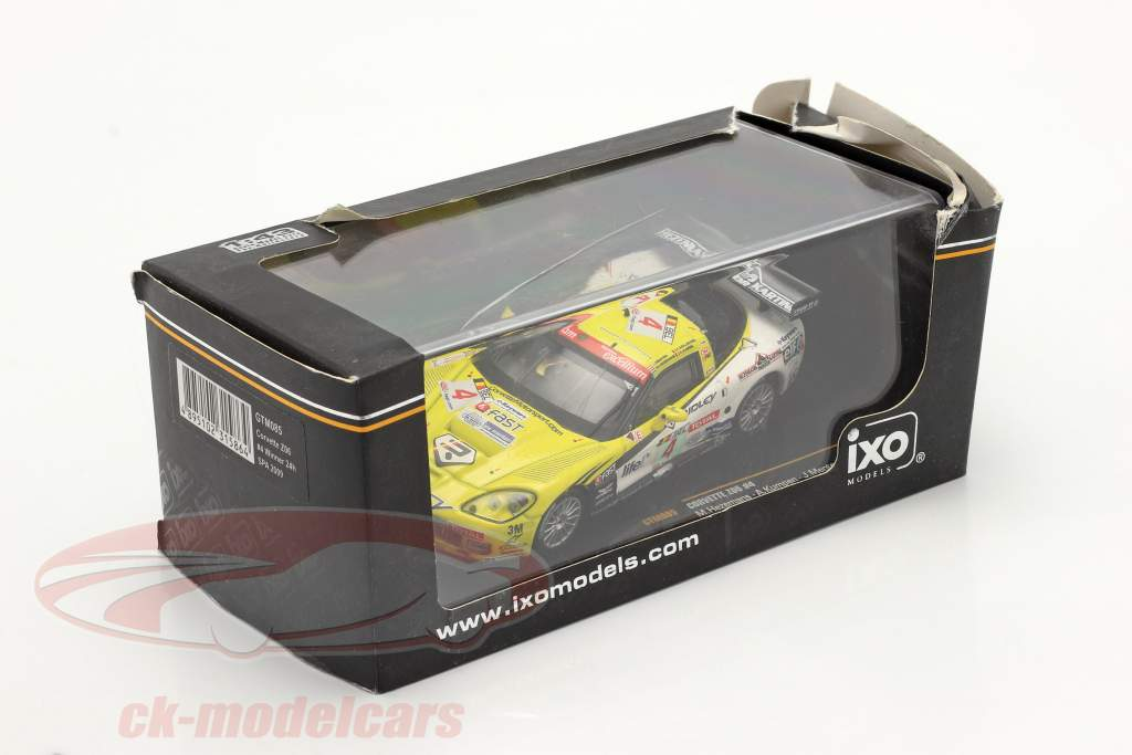 Chevrolet Corvette Z06 #4 vinder 24h Spa 2009 1:43 Ixo / 2. valg
