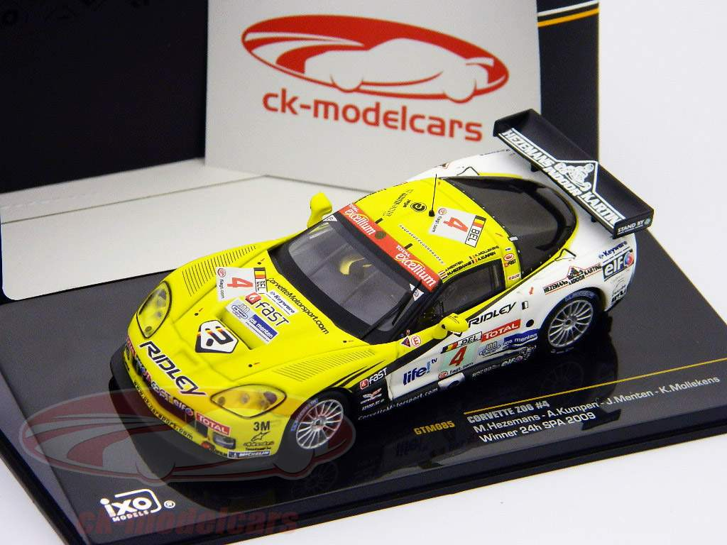 Chevrolet Corvette Z06 #4 Sieger 24h Spa 2009 1:43 Ixo / 2. Wahl
