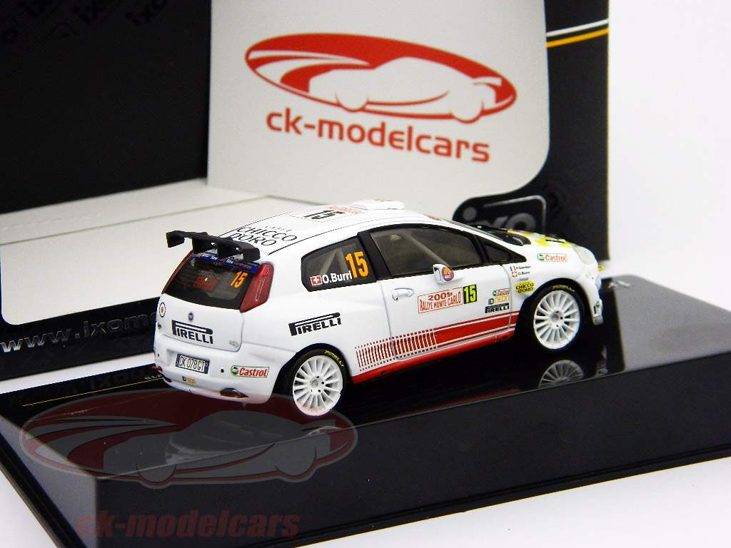 Fiat Grande Punto S2000 #15 Burri, Gordon rally Monte Carlo 1:43 Ixo / 2nd choice