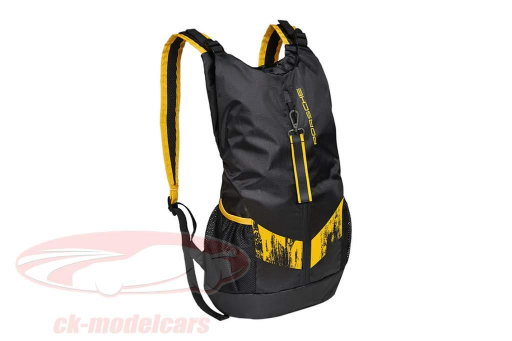 Backpack Porsche 718 Cayman GT4 Clubsport black / yellow