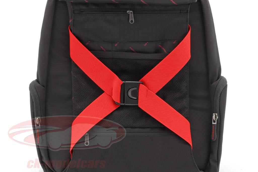 rugzak Porsche Motorsport Collection zwart