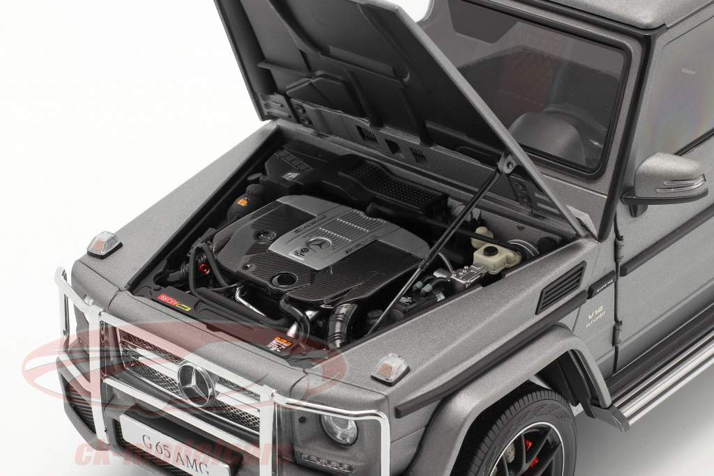 Mercedes-Benz AMG G-Klasse (W463) 2017 grau metallic 1:18 Almost Real