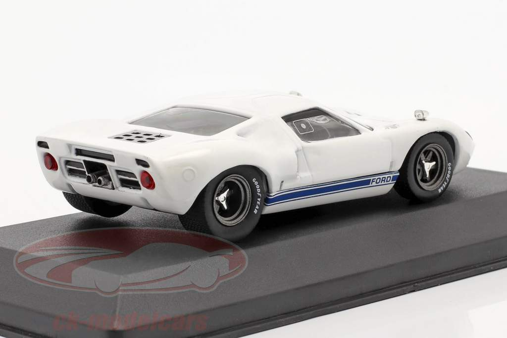 Ford GT40 year 1966 white 1:43 Solido