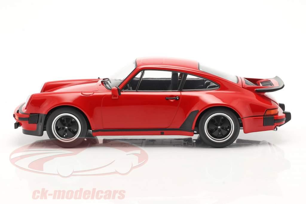 Porsche 911 (930) Turbo 3.0 year 1976 indian red 1:18 KK-Scale