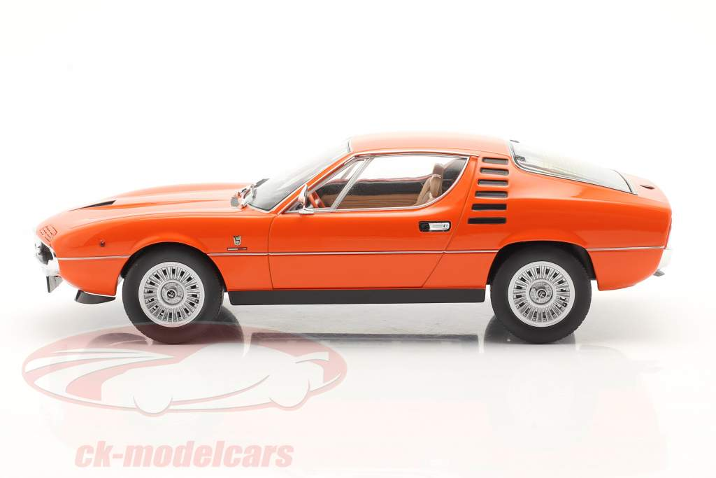 Alfa Romeo Montreal Année de construction 1970 Orange 1:18 KK-Scale