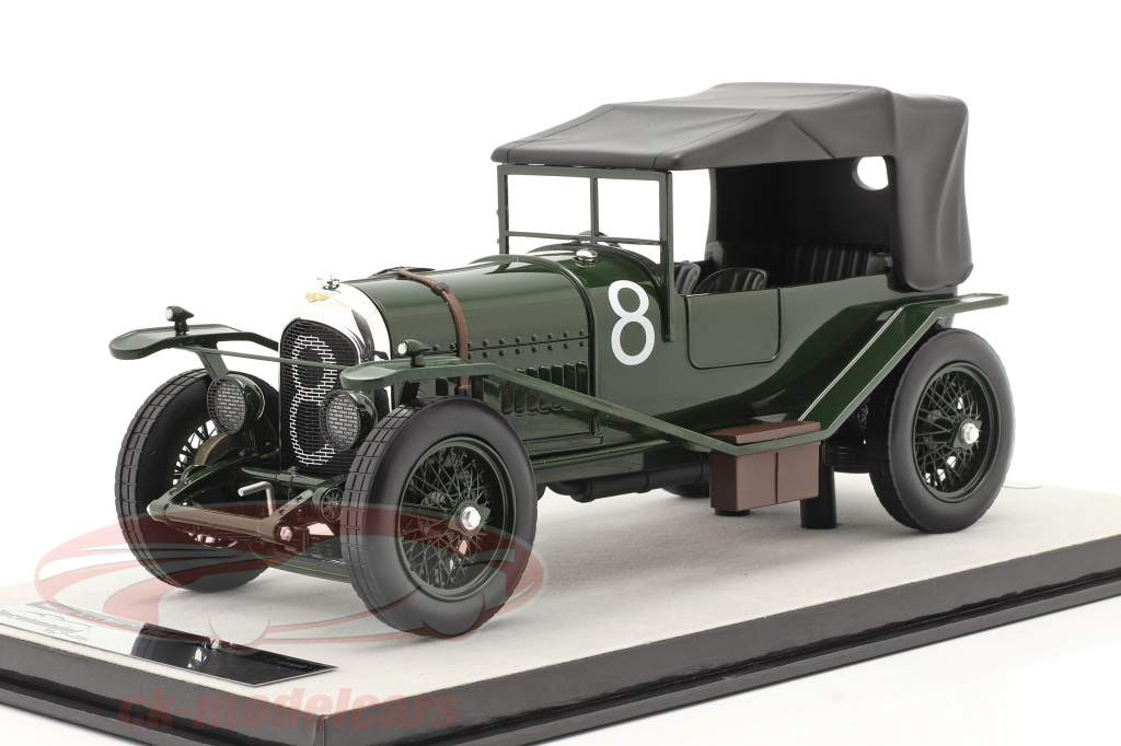 Bentley 3L Sport fechado #8 vencedora 24h LeMans 1924 Duff, Clement 1:18 Tecnomodel