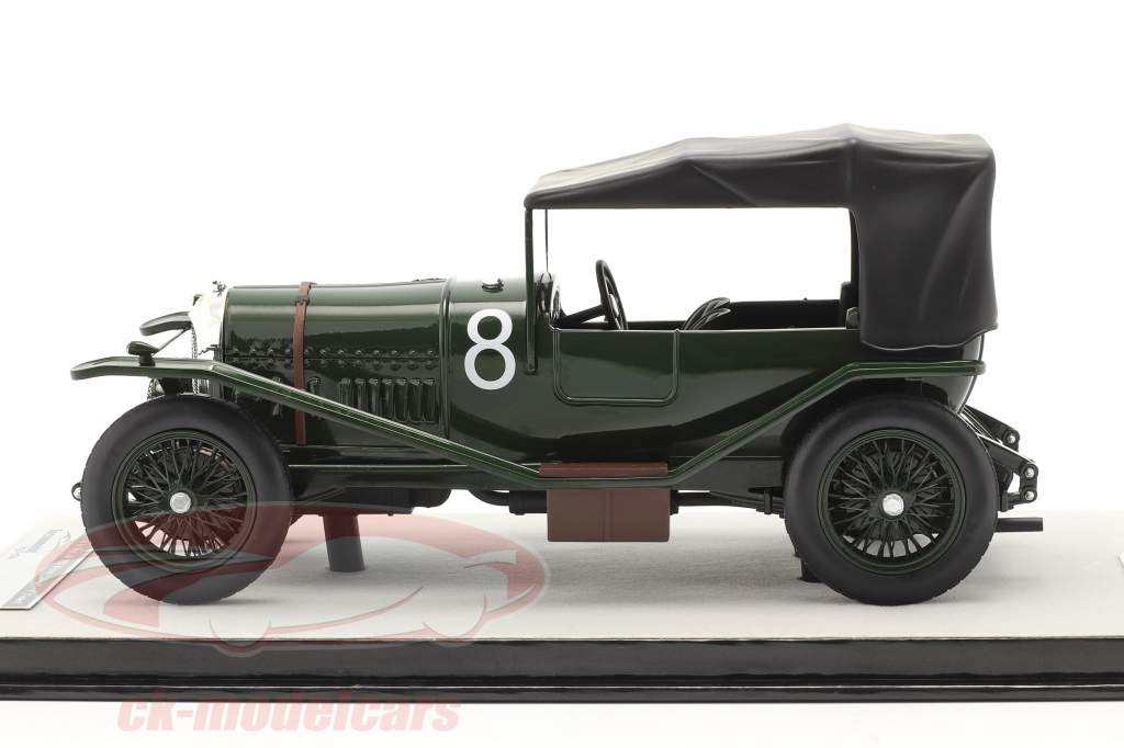 Bentley 3L Sport cerrado #8 ganador 24h LeMans 1924 Duff, Clement 1:18 Tecnomodel