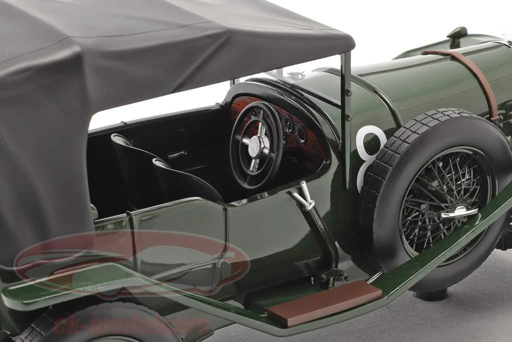 Bentley 3L Sport fermé #8 gagnant 24h LeMans 1924 Duff, Clement 1:18 Tecnomodel