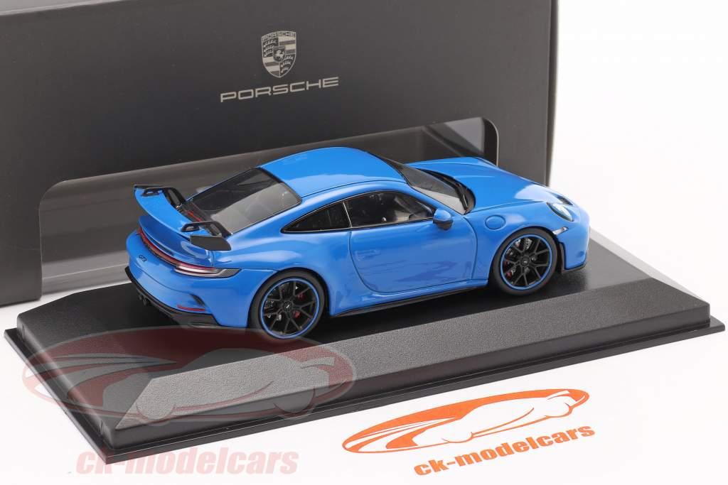 Porsche 911 (992) GT3 Bouwjaar 2021 shark blue 1:43 Minichamps