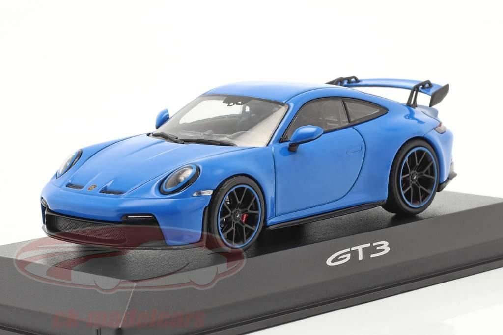 Porsche 911 (992) GT3 Baujahr 2021 shark blue 1:43 Minichamps