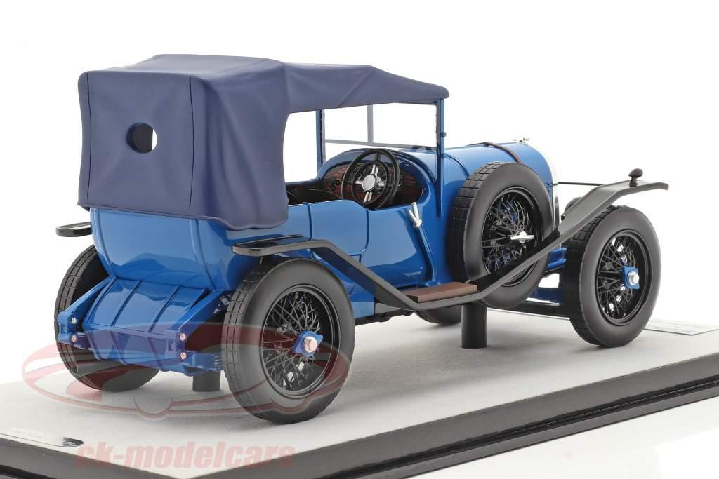 Bentley 3L Street version lukket Byggeår 1924 blå 1:18 Tecnomodel