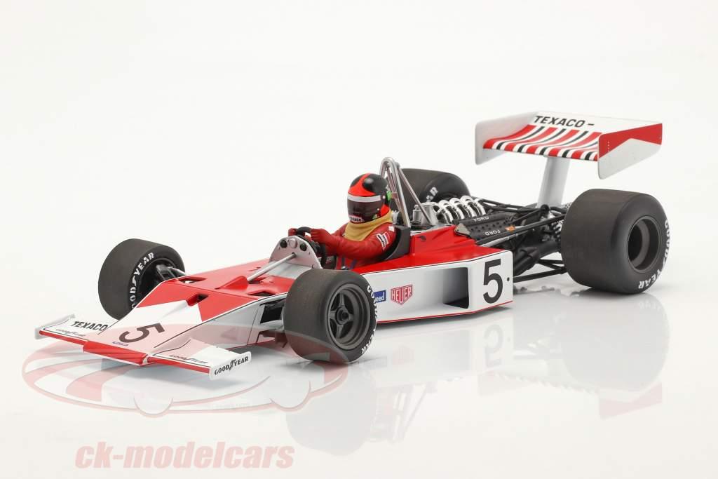 Emerson Fittipaldi McLaren-Ford M23 #5 formule 1 Champion du monde 1974 1:18 Minichamps