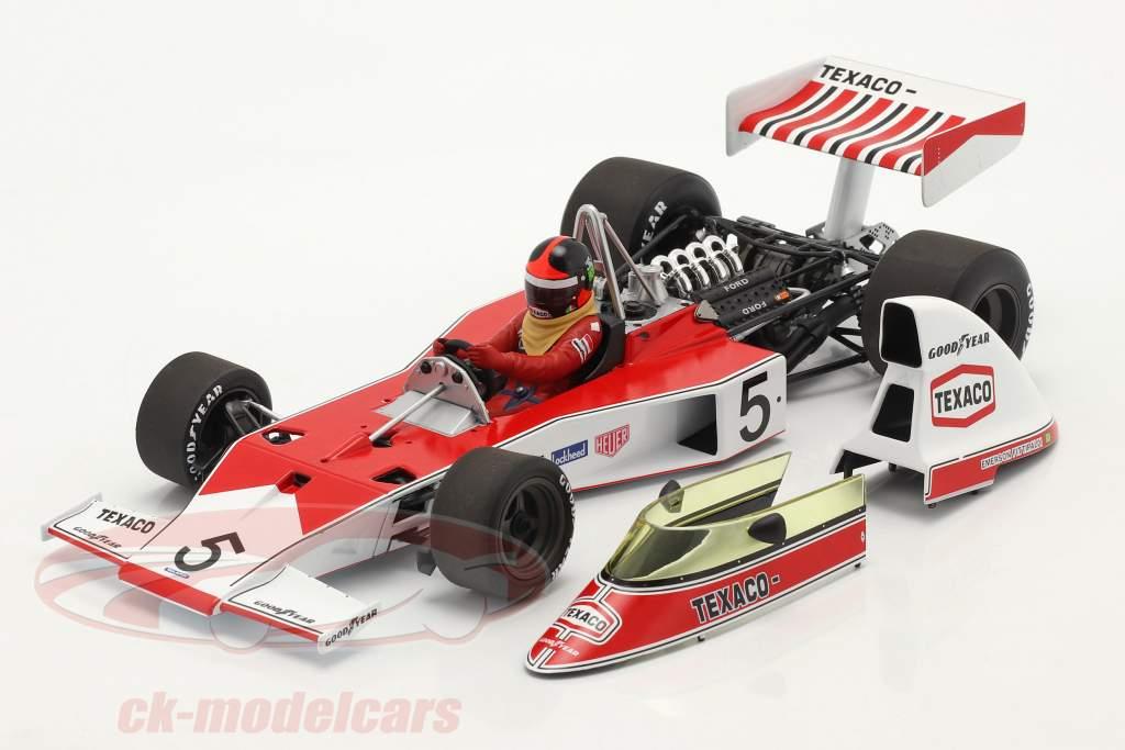Emerson Fittipaldi McLaren-Ford M23 #5 formel 1 Verdensmester 1974 1:18 Minichamps
