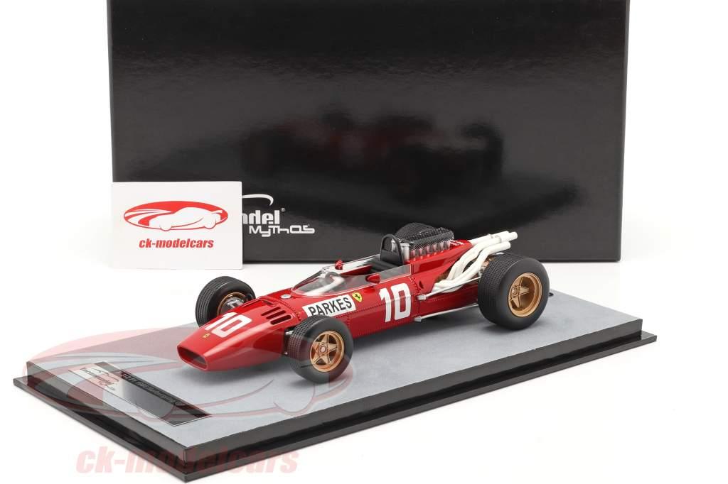 Mike Parkes Ferrari 312/66 #10 Deutschland GP Formel 1 1966 1:18 Tecnomodel
