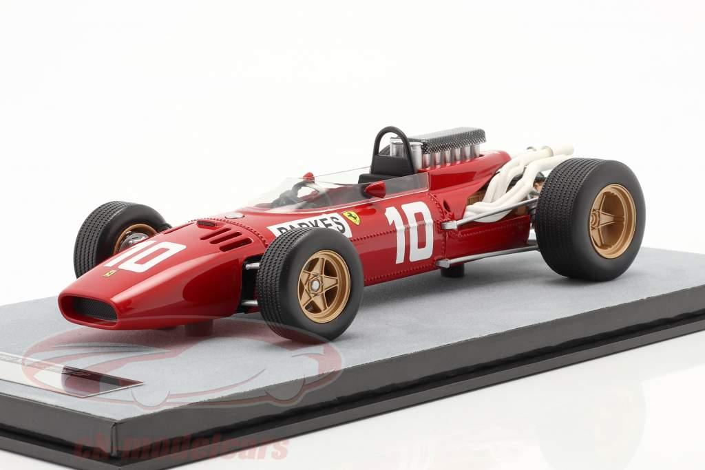 Mike Parkes Ferrari 312/66 #10 Tedesco GP formula 1 1966 1:18 Tecnomodel