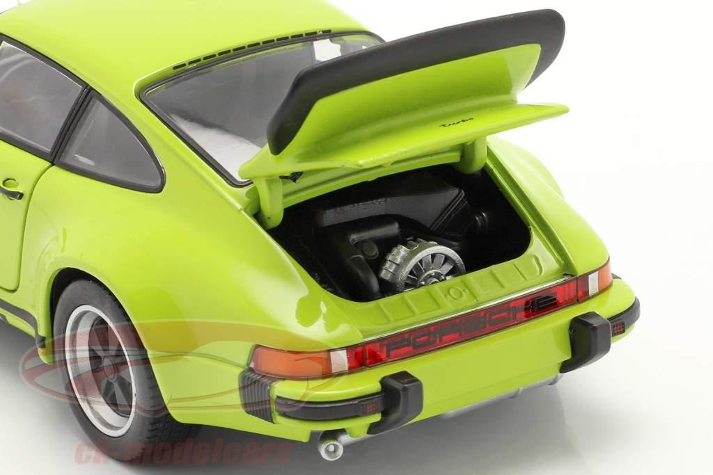 Porsche 911 (930) Turbo Année 1975 chaux 1:24 Welly