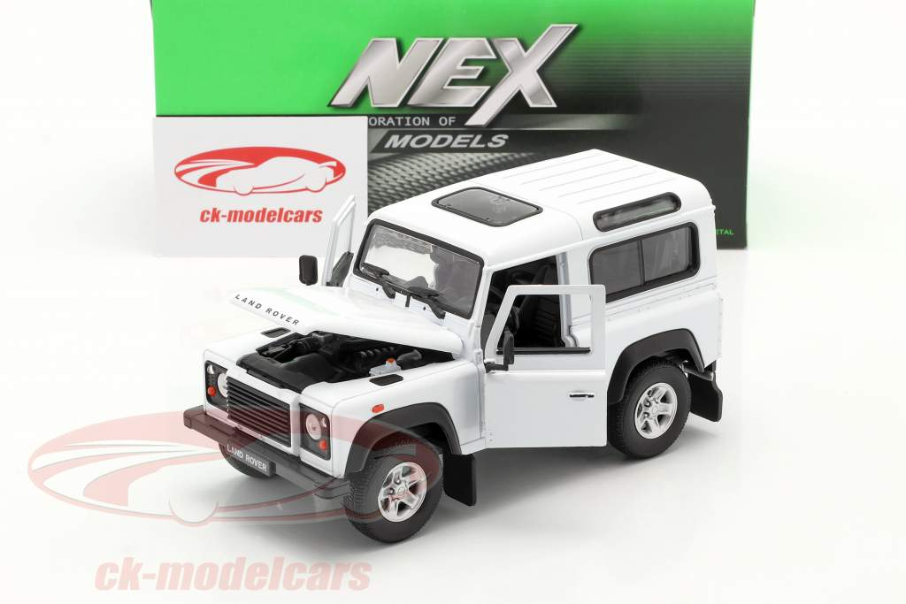 Land Rover Defender bianco 1:24 Welly