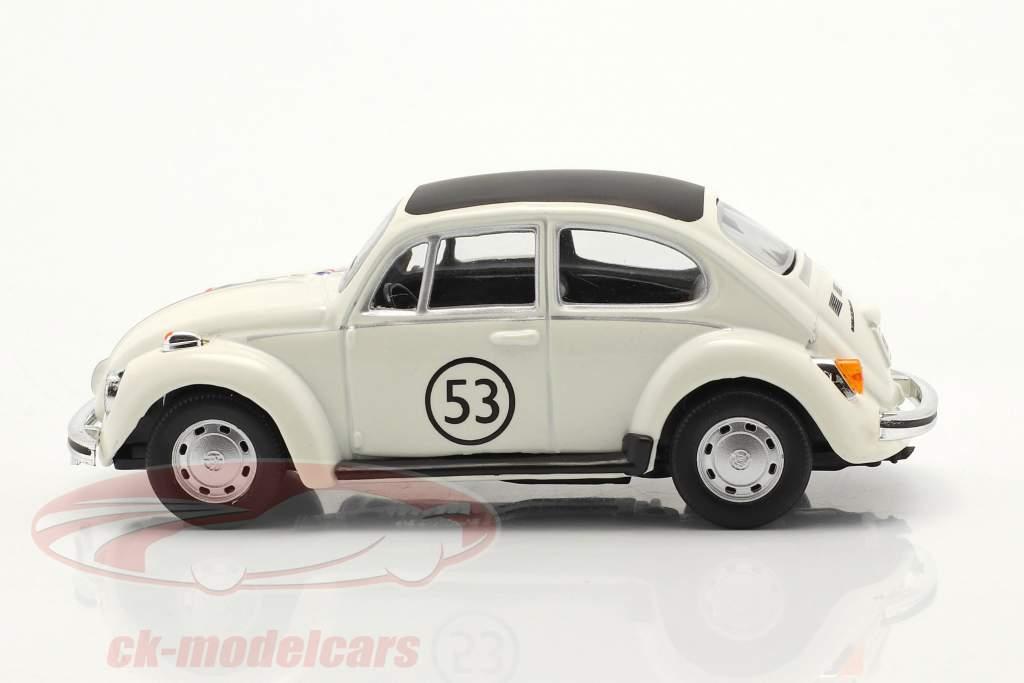 Volkswagen VW Kever #53 Herbie Wit 1:43 Cararama