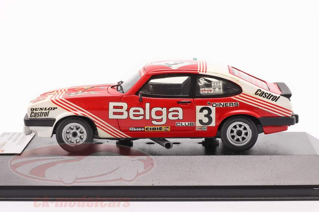 Ford Capri III 3. 0S #3 winnaar 24h SPA 1980 Martin, Martin 1:43 PremiumX