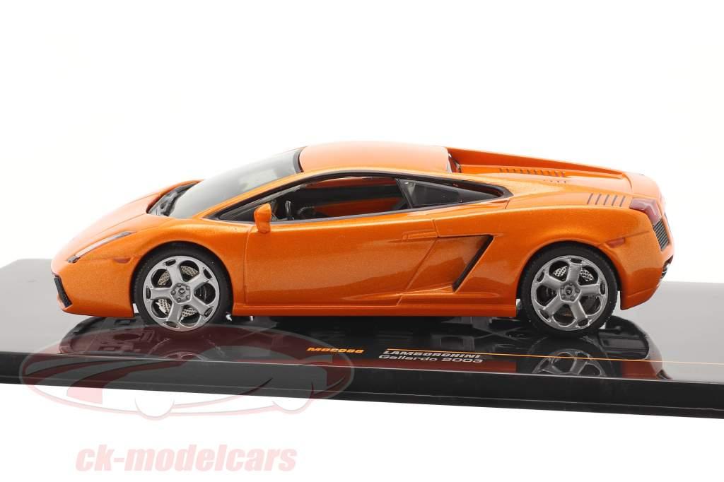 Lamborghini Gallardo Baujahr 2003 orange 1:43 Ixo