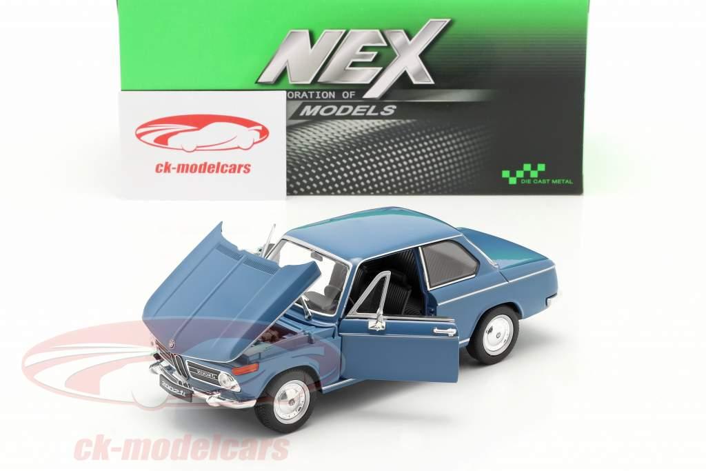 BMW 2002ti blu 1:24 Welly