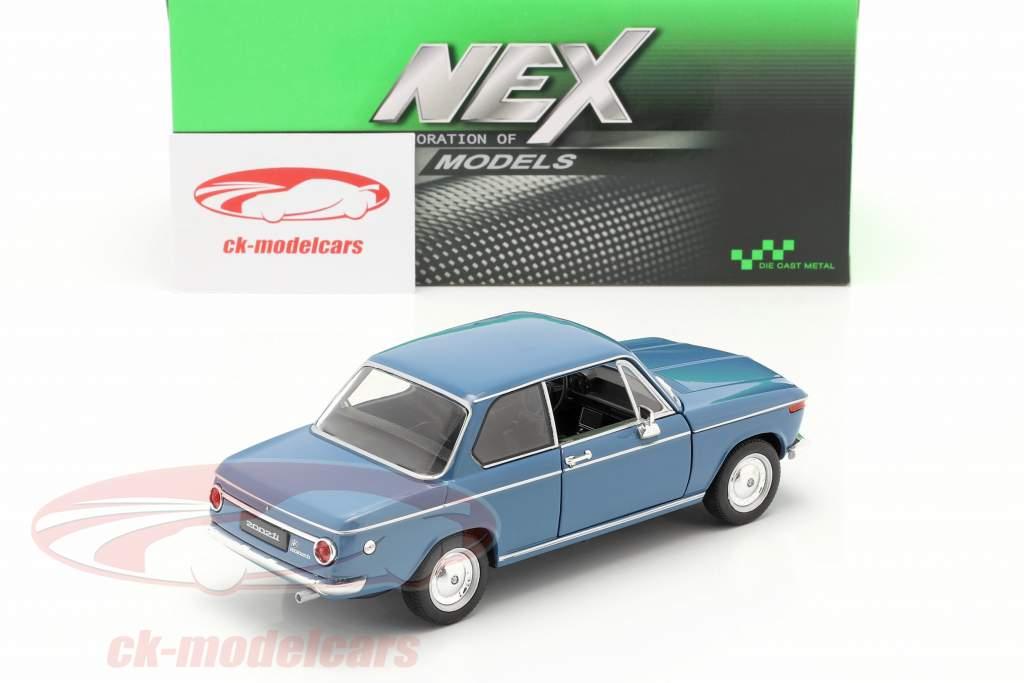 BMW 2002ti blå 1:24 Welly