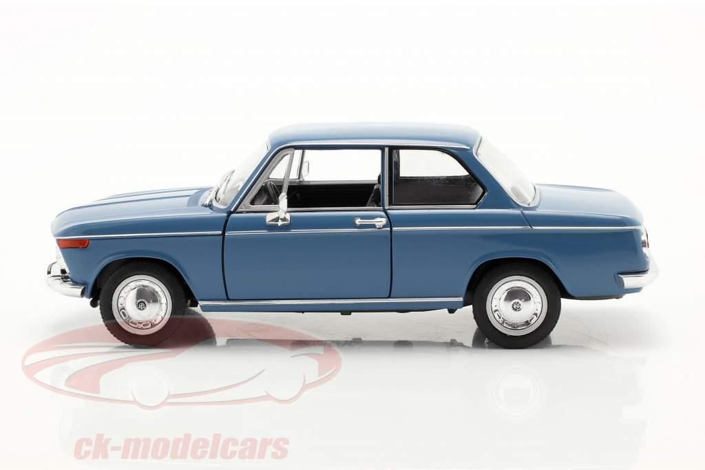 BMW 2002ti azul 1:24 Welly