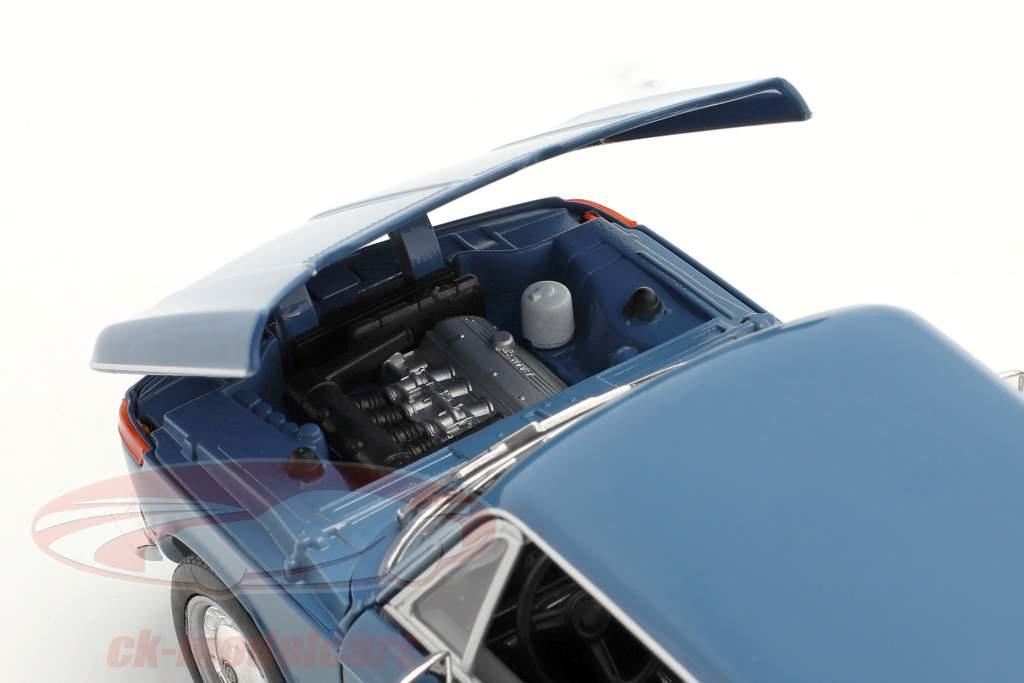 BMW 2002ti blue 1:24 Welly