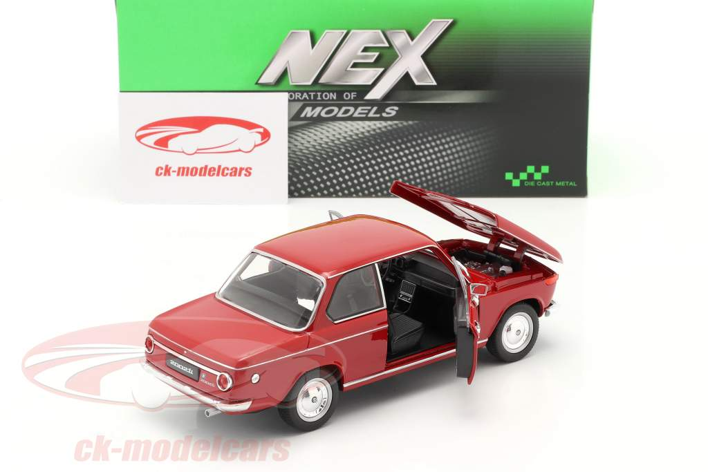 BMW 2002ti rouge 1:24 Welly